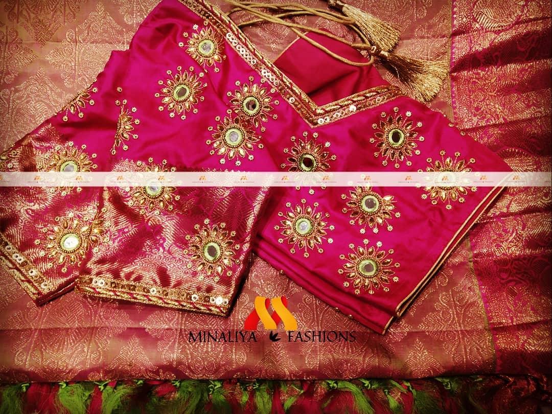 Aari Work Designer Blouse