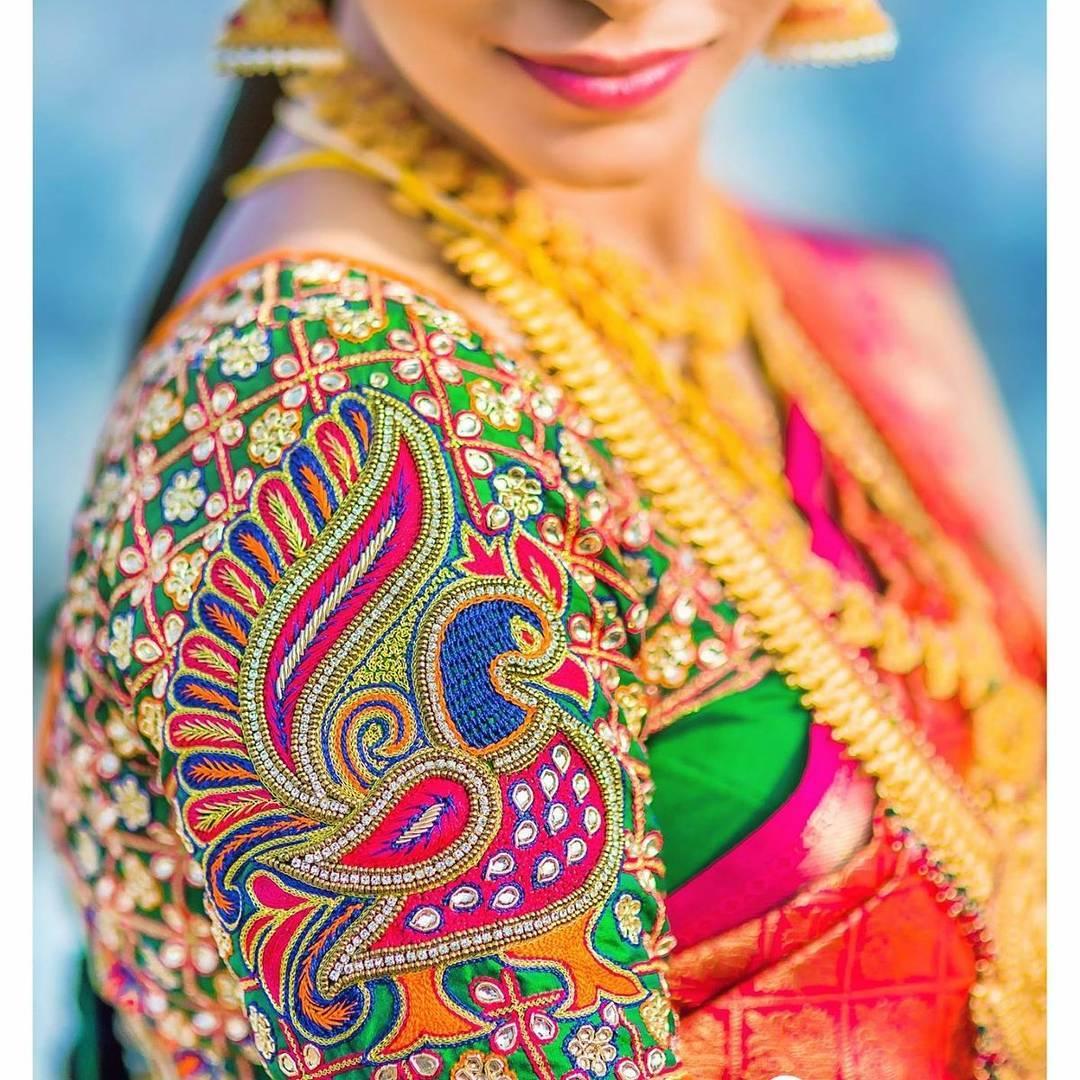 Designer Blouses & Bridal Blouse Stitching Model