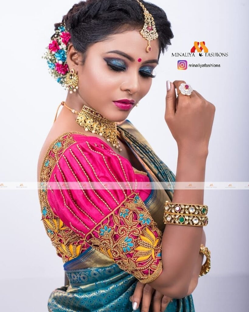 Our Exclusive Collection of Bridal Blouse Designs