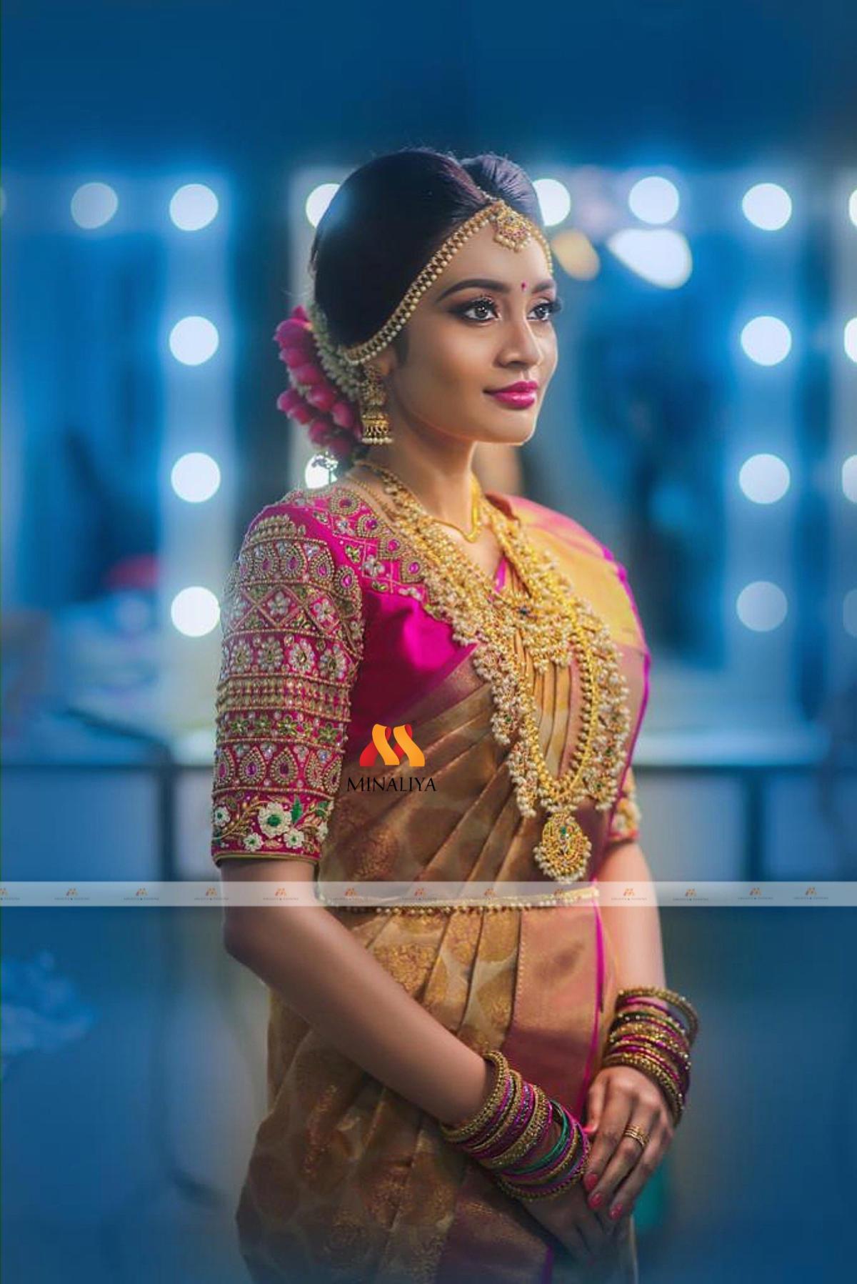 Bridal Blouse Designs 2021 by Minaliya Fashions 5