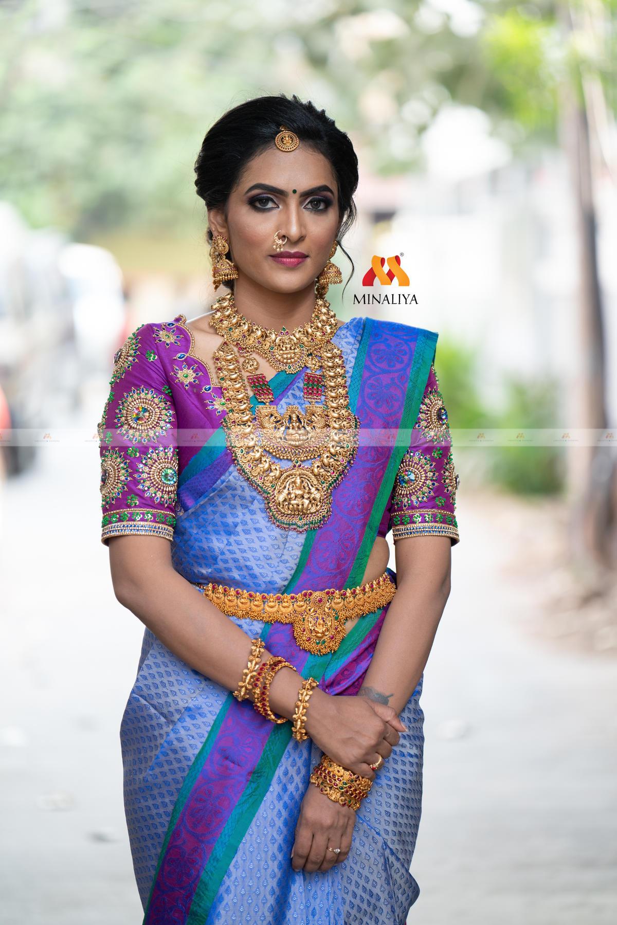 Bridal Blouse Designs 2021 by Minaliya Fashions 7