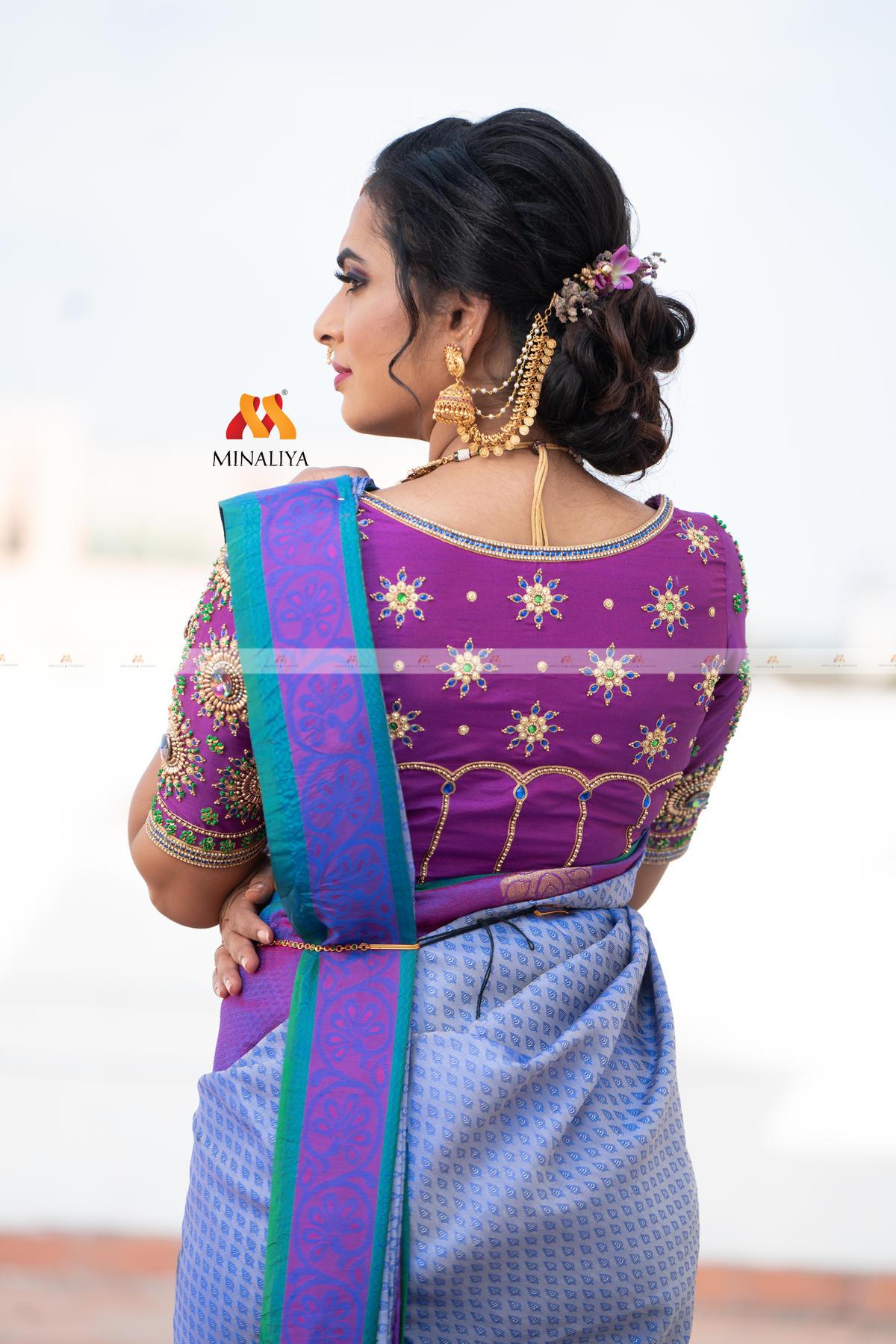 Bridal Blouse Designs 2021 by Minaliya Fashions 9