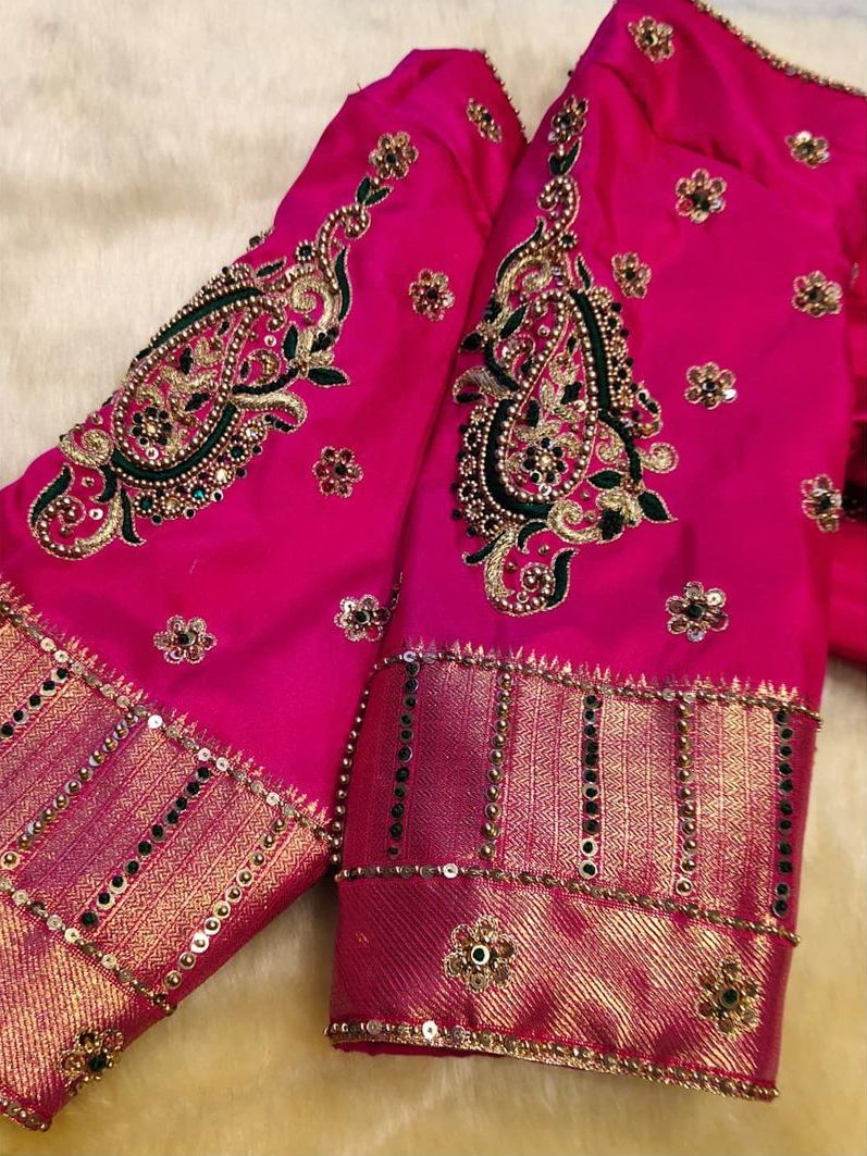 Bridal blouse designed 1