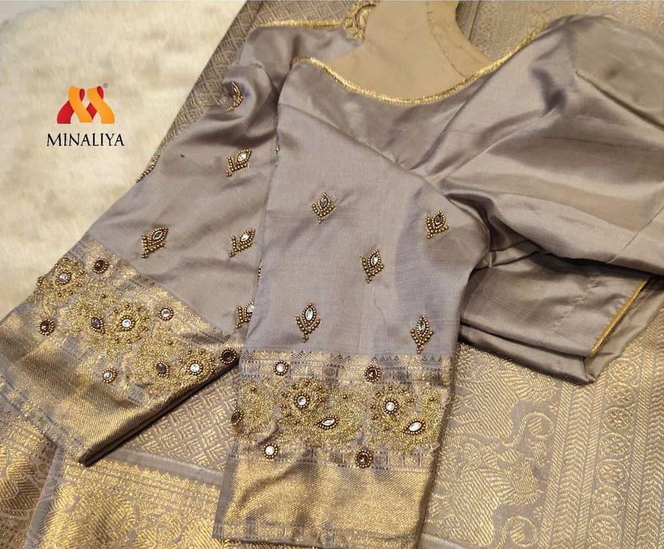 Bridal blouse designed