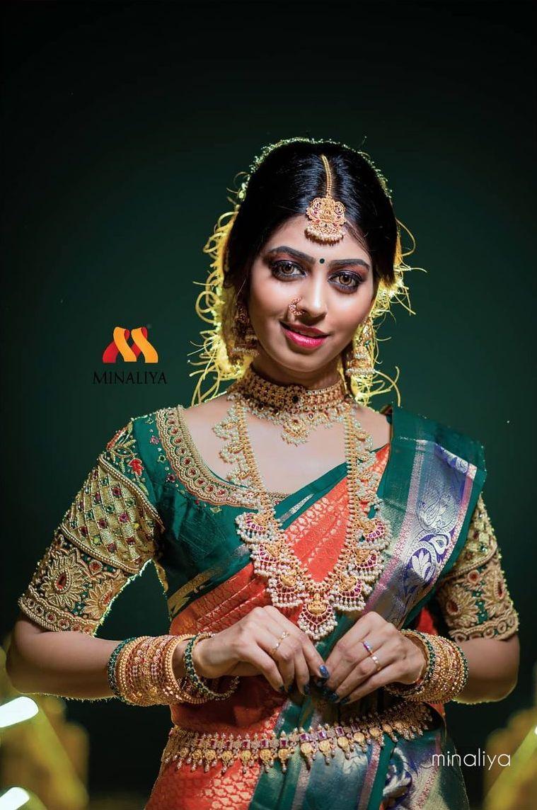Customized Bridal Blouse