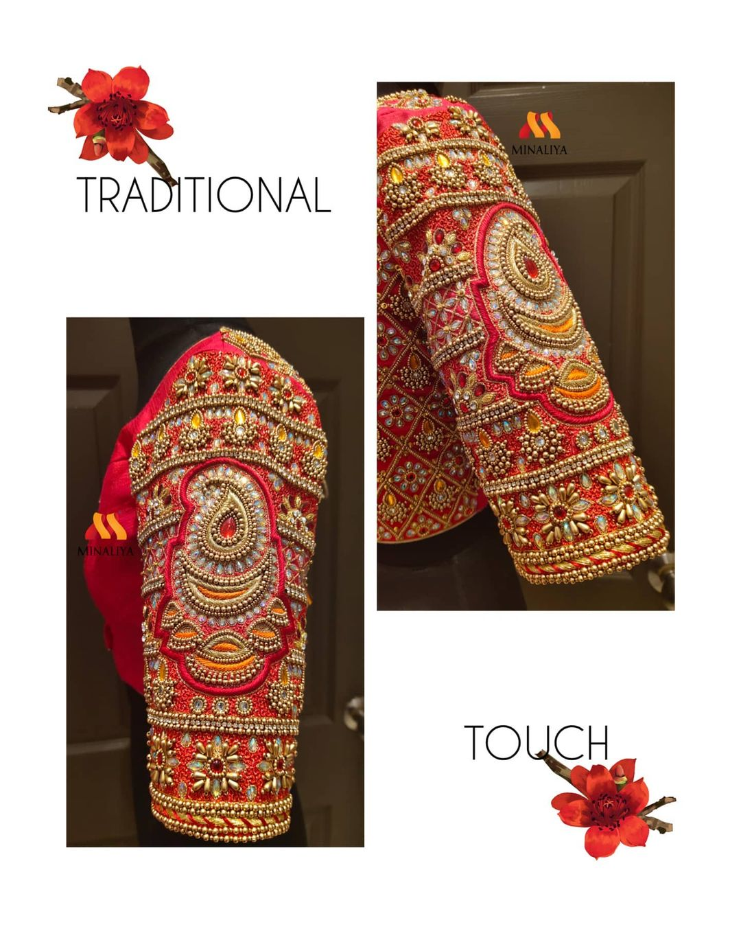 Traditional Bridal Blouse